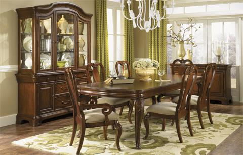 Legacy Classic Furniture - Rectangular Leg Dining Table - 9180-222