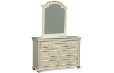 Legacy Classic Furniture - Dresser with Mirror - 3850-0200/1100