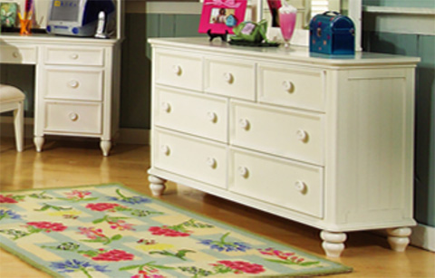 Legacy Classic Furniture - Dresser with Photo Mirror - 481-0300/1100C
