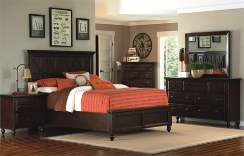 Legacy Classic Furniture - Dresser with Mirror - 3700-0100/1200
