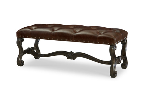 Image of La Bella Vita Upholstered Bench