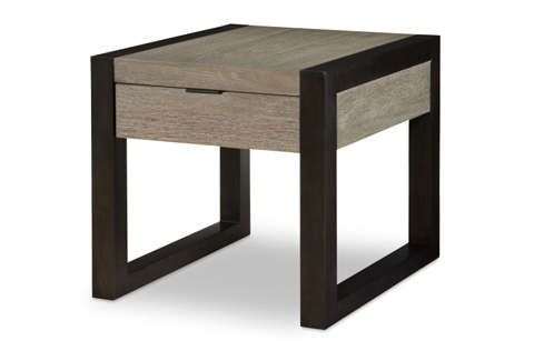Image of Helix Rectangular End Table