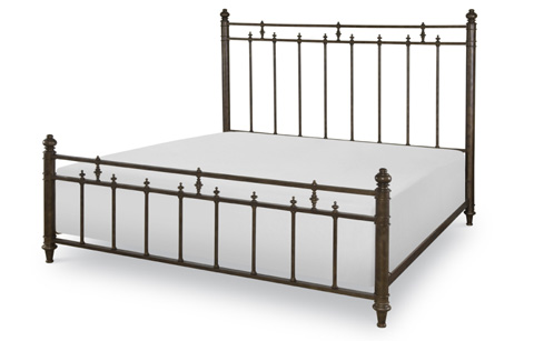 Legacy Classic Furniture - Metal Bed in Queen - 5200-5005