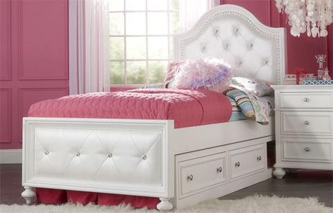 Legacy Classic Furniture - Twin Upholstered Bed - 2830-4703K