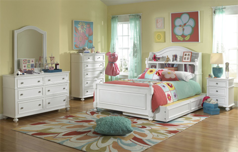 Legacy Classic Furniture - Twin Bookcase Bed - 2830-4803K