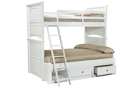Legacy Classic Furniture - Twin Over Full Bunk Bed - 2830-8106K