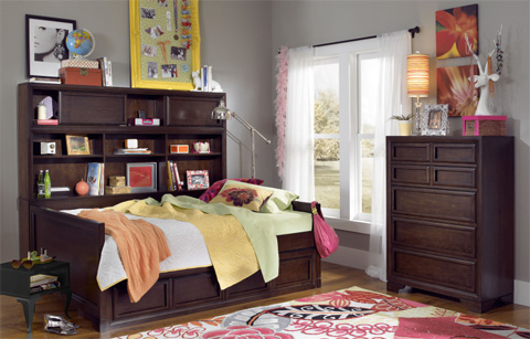 Legacy Classic Furniture - Twin Bookcase Daybed - 2970-5605K