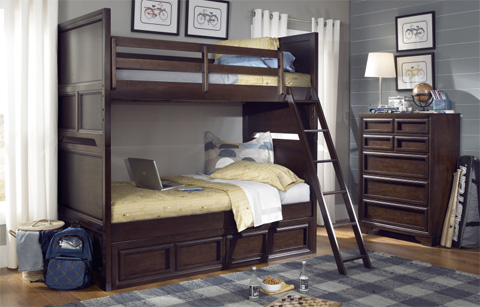 Legacy Classic Furniture - Twin Over Full Bunk Bed - 2970-8107K