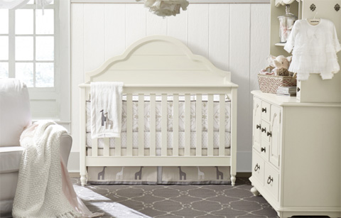 Legacy Classic Furniture - Grow with Me Convertible Crib - 3832-8900