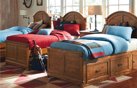 Legacy Classic Furniture - Full Panel Bed - 3900-4104K