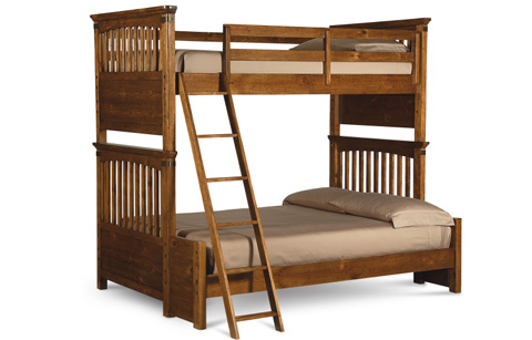 Legacy Classic Furniture - Twin over Full Bunk Bed - 3900-8140K