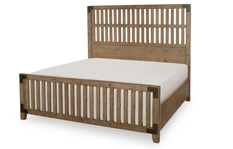 Legacy Classic Furniture - Queen Wood Gate Bed - 5610-4205K