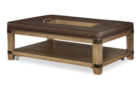 Legacy Classic Furniture - Upholstered Cocktail Table - 5610-501