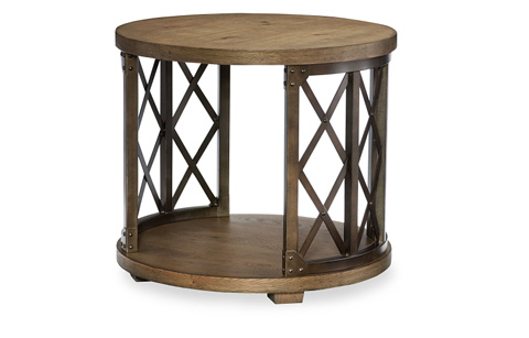 Legacy Classic Furniture - Round Lamp Table - 5610-507