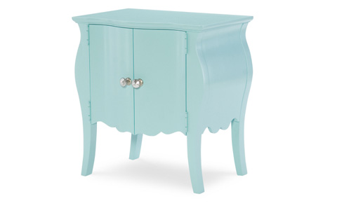 Legacy Classic Furniture - Door Nightstand in Powder Blue - 5930-3101A