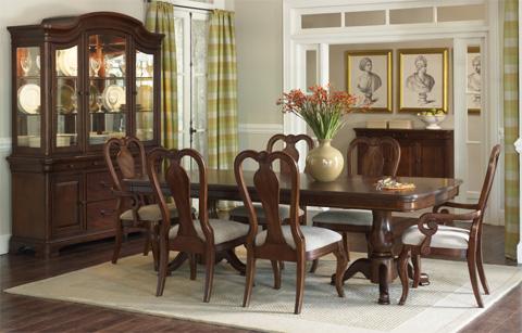 Legacy Classic Furniture - Queen Anne Arm Chair - 9180-141 KD