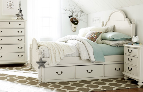 Legacy Classic Furniture - Full Westport Low Poster Bed - 3830-4204K