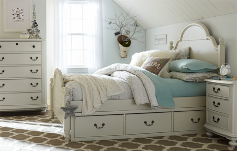 Legacy Classic Furniture - Full Westport Platform Bed - 3830-4224K