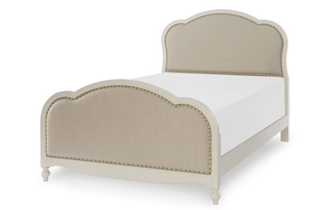 Legacy Classic Furniture - Full Victoria Upholstered Panel Bed - 4910-4804K