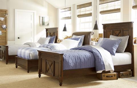 Legacy Classic Furniture - Twin Monterey Platform Bed - 4920-4833K