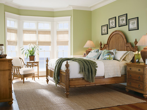 Tommy Bahama - Belle Isle Bed 6/6 King - 540-134C