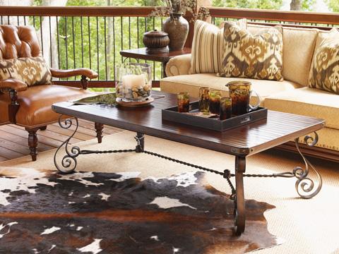 Lexington Home Brands - Cherry Creek Rectangular Cocktail Table - 455-945