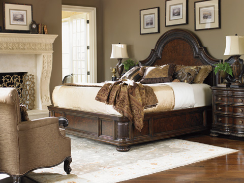 Lexington Home Brands - Cavallino Platform Bed 6/6 King - 900-134C