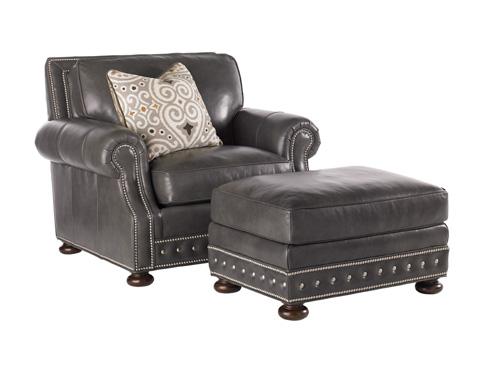 Tommy Bahama - Devon Leather Ottoman - LL7221-44