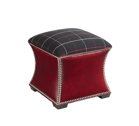 Lexington Home Brands - Eclipse Leather Ottoman - LL7501-44