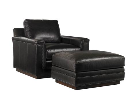 Lexington Home Brands - Balance Leather Ottoman - LL7886-44