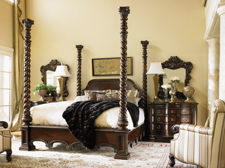 Lexington Home Brands - Vittorio Poster King Bed - 900-174C/900-174PS