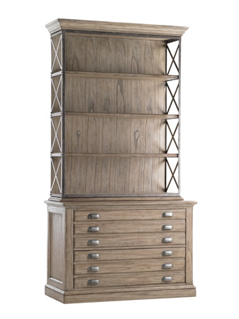 Lexington Home Brands - Johnson File Chest and Deck - 300BA-441/450