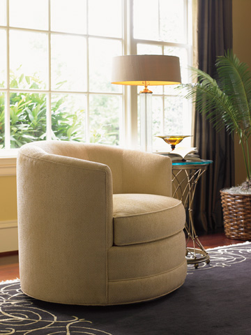Lexington Home Brands - Graniers Swivel Chair - 7268-11SW