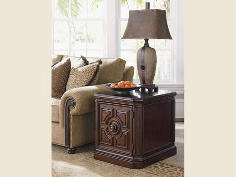 Tommy Bahama - Crawford Storage Lamp Table - 552-950