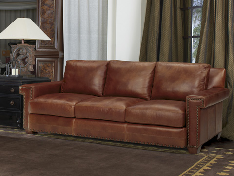 Tommy Bahama - Torres Leather Sofa - 7542-33-03