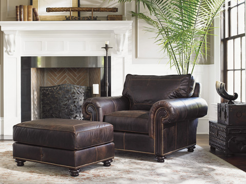 Tommy Bahama - Riversdale Leather Chair - 7998-11-01
