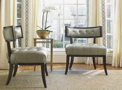 Lexington Home Brands - Elaine Leather Chair - LL1679-11