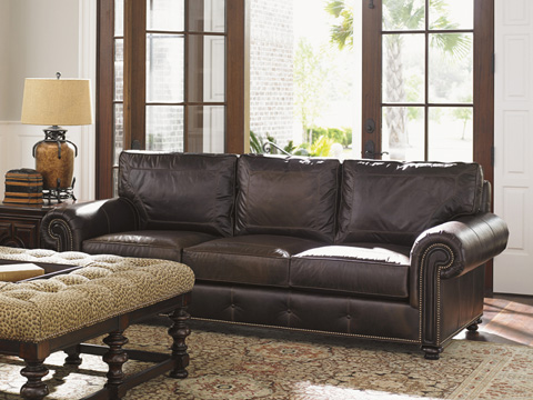 Tommy Bahama - Riversdale Leather Sofa - LL7998-33