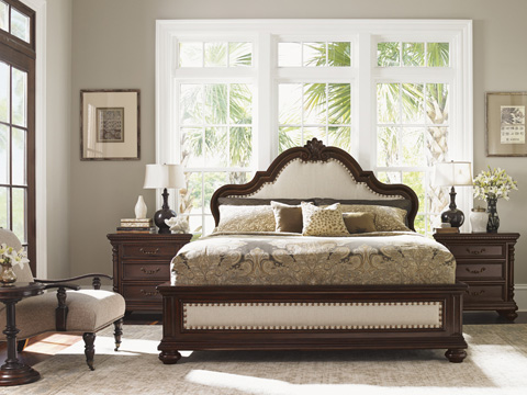 Tommy Bahama - King Barcelona Panel Bed - 552-134C