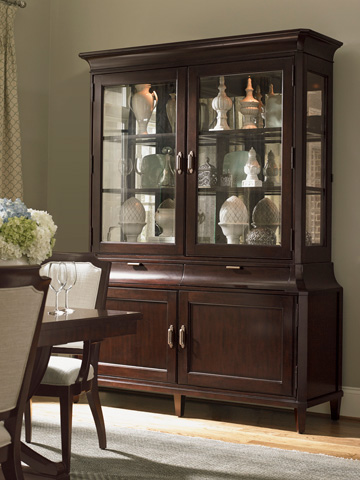 Lexington Home Brands - Grove Park Display Cabinet - 708-864C