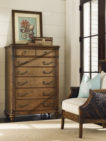 Tommy Bahama - Tobago Drawer Chest - 593-307