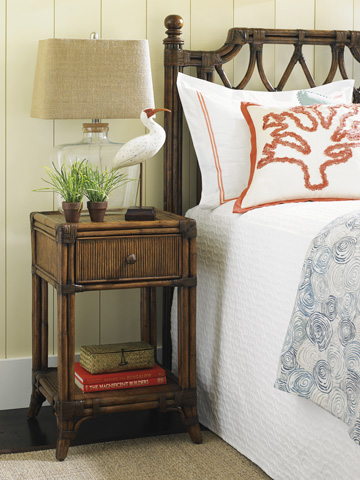 Tommy Bahama - Del Sol Bedside Table - 593-622