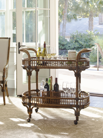 Tommy Bahama - Veranda Bar Cart - 593-862
