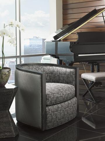 Lexington Home Brands - Palermo Swivel Chair - 7667-11SW