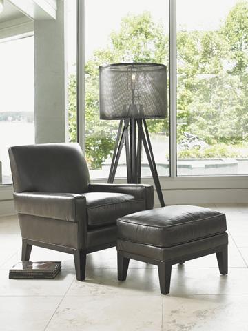 Lexington Home Brands - Giovanni Leather Ottoman - LL7579-44