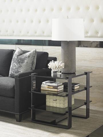 Lexington Home Brands - Rhodium End Table - 911-955C