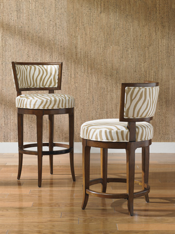 Lexington Home Brands - Macau Swivel Counter Stool - 556-815