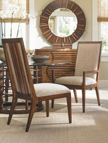 Lexington Home Brands - Natori Slat Back Arm Chair - 556-881