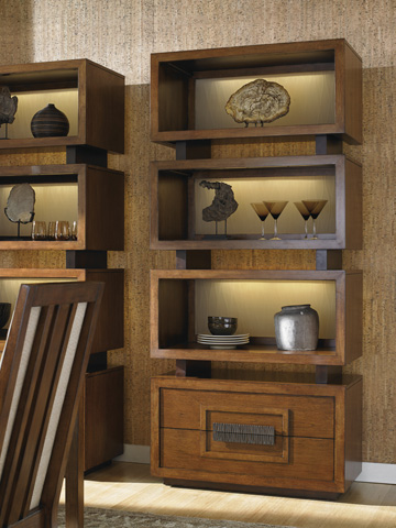 Lexington Home Brands - Tonga Tiered Bookcase - 556-990