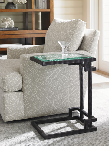 Lexington Home Brands - Hermes Reef Glass Top Martini Table - 556-952C